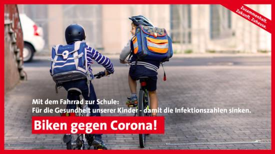 Biken gegen Corona 1