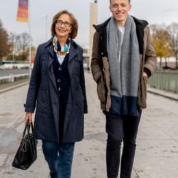 Ulrike Strauch und Adis Ahmetovic
