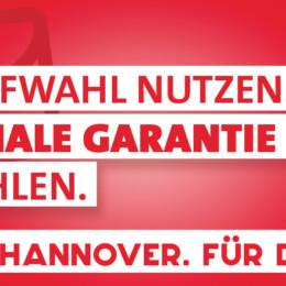 Plakatmotiv SPD Hannover